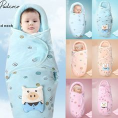 Cotton Swaddle Wrap with Head Support and Velcro Strap | 1 PCS  Price: 10.00 & FREE Shipping  #babyclothes Swaddle Wrap, Baby Swaddle Blankets, Receiving Blankets, Baby Warmer, Baby Wraps, Baby Safe, Baby Boy Newborn, Velcro Straps, Baby Month By Month