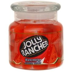 Jolly Rancher 16 oz. Watermelon Scented Jar Candle - Food & Grocery -... ($9.99) ❤ liked on Polyvore featuring home, home decor, candles & candleholders, scented air freshener, scented candles, scented jar candles, watermelon home decor and fragrance candles