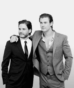 Daniel Bruhl & Chris Hemsworth