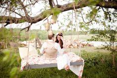 bohemian newlyweds
