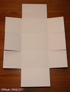 Wenches Kort og Papir: Bowl-box Tutorial!!