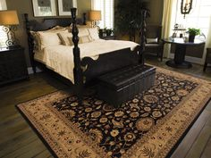 Oriental carpets can make your room look very traditional or elegant with their beautiful looks and long life. These handmade carpets are mostly from Asian countries china, Vietnam, India, Iraq etc… Indian Rugs, Handmade Rugs, Fashion Room, Fashion Decor, Style Fashion, Bedroom Black, Master Bedroom, Bedroom Decor, Bedroom Rugs