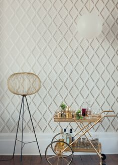 Pompeian wallpaper from Cole and Son