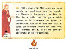 Pensée cliquable - Fondation des Choisis de Jésus