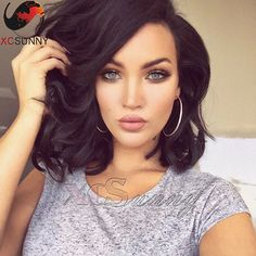 Find More Human Wigs Information about Brazilian Short Bob Human Hair UPart Bob Wig 1X4 Inch Left Part Opening Short Wavy Human Hair U Part Wigs Bob for Black Women,High Quality bob shirts,China wig supplies Suppliers, Cheap bob weave from xcsunny wigs on Aliexpress.com