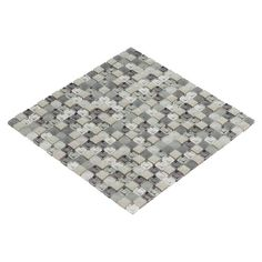 Polar Star Glass Mosaic - 12in. x 12in. - 100141480 | Floor and Decor