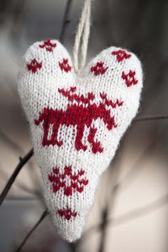 Sjarmerende jul: Hjertestrikk