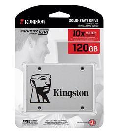 Disco Solido Kingston 120gb UV400 Ssd Now Sata