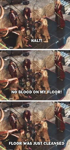 Why does this sound like something Thranduil would actually say? XP