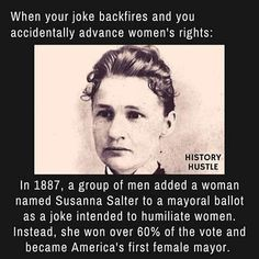 Susanna Salter - 10 Unbelievable History Facts You Really Need to See From History Hustle Weird History Facts, Black History Facts, History Memes, Wtf Fun Facts, Strange History, Funny Memes, Jokes, Funny Quotes, Hilarious