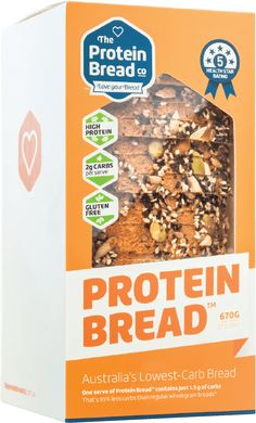 The best Low Carb Bread in Australia by The Protein Bread Co - Gluten Free and just 2g CARBS PER SERVE! Order online now, or visit one of our stockists