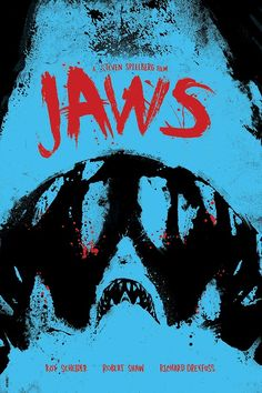 'Jaws' Poster Art by Daniel Norris