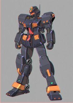 Exoskeleton Suit, Gundam Mobile Suit, Gundam 00, Custom Gundam, Super Robot, Mechanical Design, Gundam Model, War Machine, Transformers
