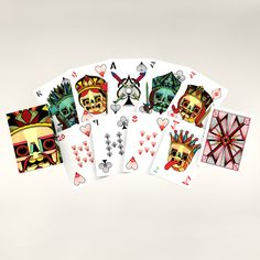 Coolest deck I have seen, ever! I want.    Image of Robot Card Deck by David M. Cook