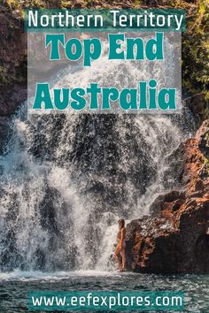Top End Australia is located in the Northern Territory. And it's absolutely gorgeous. I will tell you all about chasing waterfalls and where to go. Australia Honeymoon, Visit Australia, Australia Travel, Western Australia, Kakadu National Park, National Parks, Scuba Diving Australia, Visit Sydney, Visit Wales