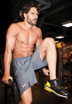 The Celebrity Workout: True Blood's Joe Manganiello.