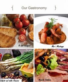 The best catalan dishes are Pa amb tomaquet, Mar i Muntanya, Calçots amb salsa Romesco and Amanida Catalana!