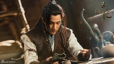 The Legend of Jade Sword 莽荒纪 has released more official-looking stills.  Starring Hawick Lau and Wang Ou, it's nice how the costumes aren't too colorful but still look nice. More images…