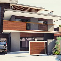 New house arquitecture small architects ideas Modern Exterior House Designs, Modern House Facades, Modern Architecture House, Residential Architecture, Modern House Design, Exterior Design, Architecture Student, Architecture Portfolio, Architecture Websites