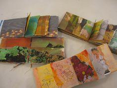 Mark-making in Textile Art - Bing images Tree Collage, Collage Art, Collages, Handmade Books, Handmade Art, Fabric Journals, Art Journals, Art Diary, Teaching Art