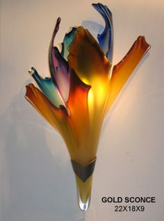 Barry Entner glass creation