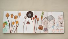 Allotment Journal - Alice Livingstone Illustration