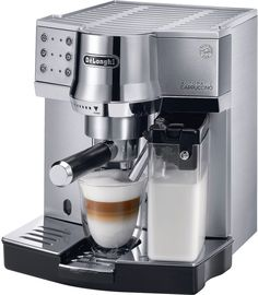 Delonghi DeLonghi Die-Cast Pump Espresso Cappuccino Maker EC860 #affiliate