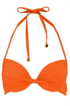 Plunge Bikini Top by Topshop