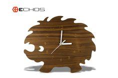 Hedgehog Kids Wall Clock