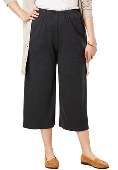 0a73c35ea6554 7-Day Knit Culottes - Women's Plus Size Clothing Plus Size Outfits, Sewing,