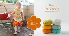 UKAS: Pilgenser / Arrow Sweater - Pickles - Pickles Free pattern 5-6 year old