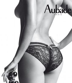 Aubade lingerie..a most pleasing way to spend a few minutes looking in appreciation and admiration