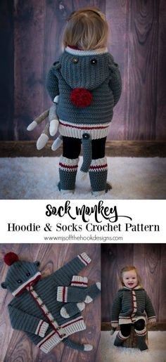 Crochet Sock Monkey Pattern