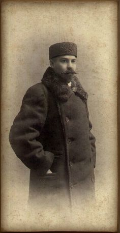 Tatars. Фото богатого татарина 1910-ые
