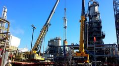 Refinery, Industry, Oil Rig, Gas, Fuel, Outdoors