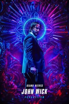 Billelis was approached by Lionsgate, LA Associates and the creative team of John Wick 3 to create official key artworkfor the launch of the latest Blockbuster instalment in the John Wick Franchise- John Wick 3 Parabellum.John Wick has become the target… Watch John Wick, John Wick Movie, Baba Yaga, Halle Berry, Asia Kate Dillon, Keanu Reeves John Wick, Best Movie Posters, Streaming Vf, Friends Show