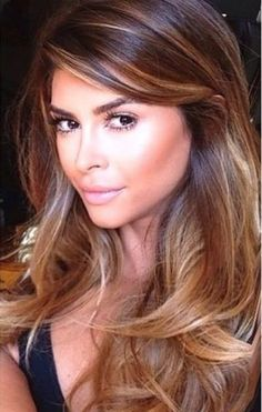 Reverse Bronde Ombre - Reverse Ombre Hair with Perfect Fades Into Browns and Blacks - The Trending Hairstyle Long Blonde Curls, Brown Curls, Blonde Waves, Sombre Hair, Hair Color Balayage, Bright Blonde, Brown To Blonde, Reverse Ombre Hair, Trending Hairstyles