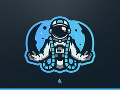 """""""SoaR Zynq"""" Astronaut Mascot Logo designed by Vedant Patel. Connect with them on Dribbble; the global community for designers and creative professionals. Logo E Sports, Logo Gaming, Playstation Logo, Beast Games, Game Logo Design, Esports Logo, Joker Art, Picture Logo, Logo Nasa"""