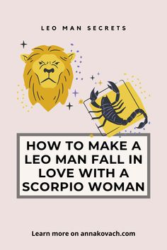 What can a Scorpio woman do to make a Leo man fall in love with her? It may not be as hard as you think but when it comes to the two maintaining the love, it may be a little bit more difficult. Keep reading to find out how to make a Leo man fall in love with a Scorpio woman. #zodiac #sign #horoscope #horoscope_sign #astrology #love #relationship #dating #dating_tips #romance #leo #leo_man #leo_traits #dating_leo #woman #leo_loves #leo_wants #woman #scorpio #dating_scorpio #match… Leo Man In Love, Get The Guy, Leo Traits, Leo Women, Love Compatibility, Scorpio Men, Crazy About You, Relationship Coach, Woman Back