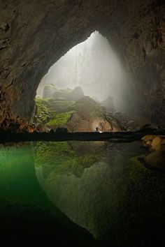 Son Doong Cave in Vietnam, it is the world's largest cave.