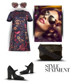 """""""Style statment"""" by zabead ❤ liked on Polyvore featuring Burberry, Dolce&Gabbana and Valentino"""