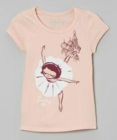 This Pink 'St. Petersburg' Ballet Tee - Toddler & Girls is perfect! #zulilyfinds