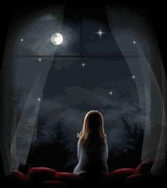 Moonlight floods the whole sky from horizon to horizon; How much it can fill your room depends on its windows.  ~ Rumi