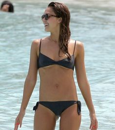 Jessica alba bikini picture you were