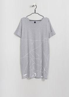 Kintsugi Dress by Kowtow. Ethical organic cotton.