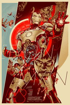 Iron Man 3 by Martin Ansin
