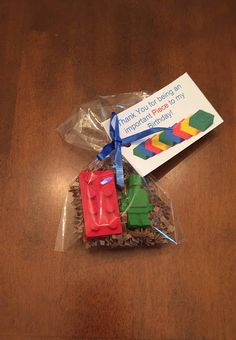 Lego Party Favors Lego crayons Lego Birthday
