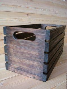 Купить ящик старость-радость - комбинированный, ящик, ящик для хранения, ящик из дерева, ящик деревянный