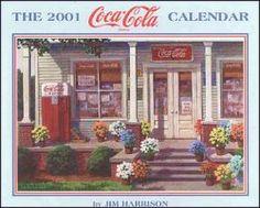 2001 Coca Cola Calendar: Home Coca Cola, Pepsi, Coke, Jim Harrison, Calendar Home, Retro, Artist, Fun, Tutorials