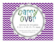 Busy Bee Speech: Articulation Carry-Over Activities! Pinned from SOS Inc. Articulation Therapy, Articulation Activities, Speech Therapy Activities, Language Activities, Speech Pathology, Speech Language Pathology, Speech And Language, Busy Bee, Therapy Ideas